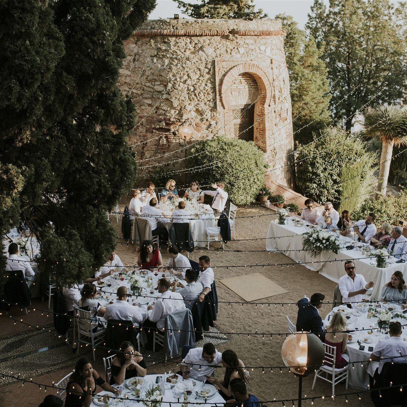 Wedding Castle Spain